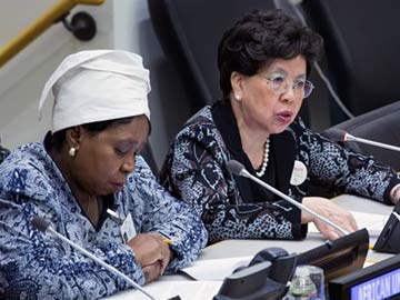African Union Chief Urges More Human Resources for Ebola Fight
